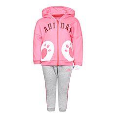 adidas阿迪达斯2018女婴童IN CNY FZ SET新年系列长袖套服DM4035