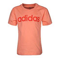 adidas阿迪达斯2018女小童LK LIN TEE短袖T恤CF6618
