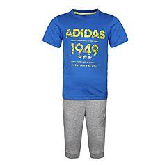 adidas阿迪达斯2018男小童LB SS TEE 34 SE短袖套服CW0417