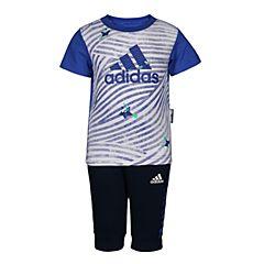 adidas阿迪达斯2018男婴童IN F TEE 34 SET短袖套服CX3477