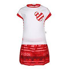 adidas阿迪达斯2018女婴童INF DY TM SUM短袖套服CV5965