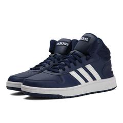 adidas阿迪达斯2018男子HOOPS 2.0 MID篮球场下休闲篮球鞋B44663