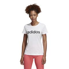 adidas阿迪達斯女子W E LIN SLIM T圓領短T恤DU0629