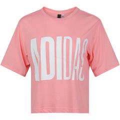 adidas阿迪達斯女子UNIV TEE 1 W圓領短T恤FM1655