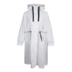 adidas阿迪達斯女子STY LONG JKT梭織外套GF0119