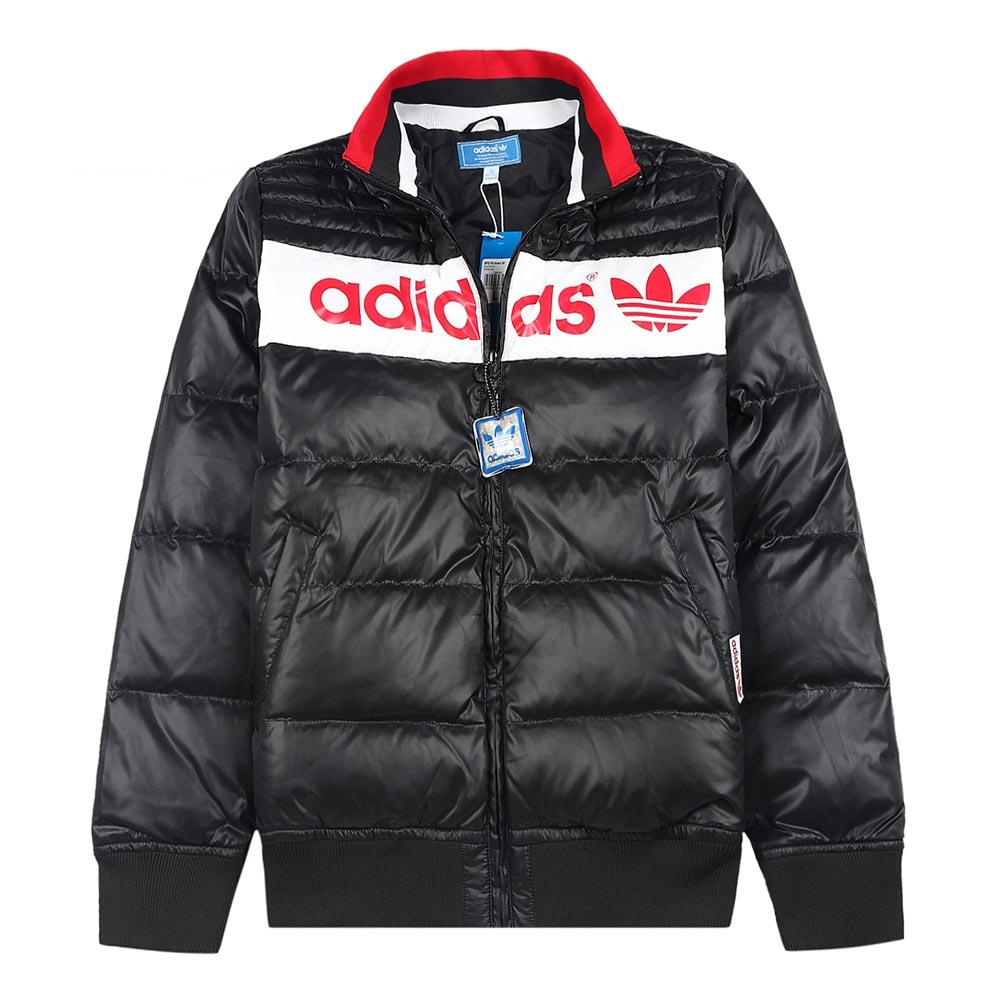 adidas阿迪达斯三叶草男子羽绒服O57413 高清实拍大图页