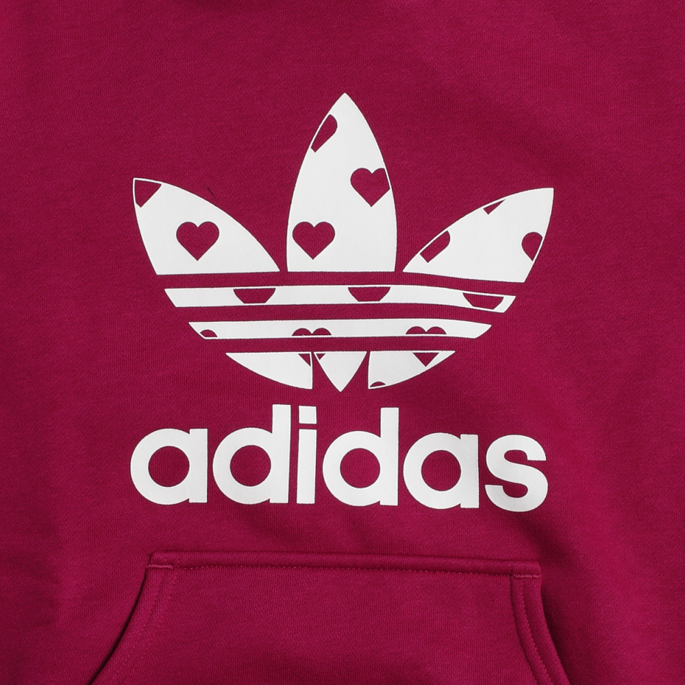 adidas阿迪达斯三叶草 女子套头衫w67910图片