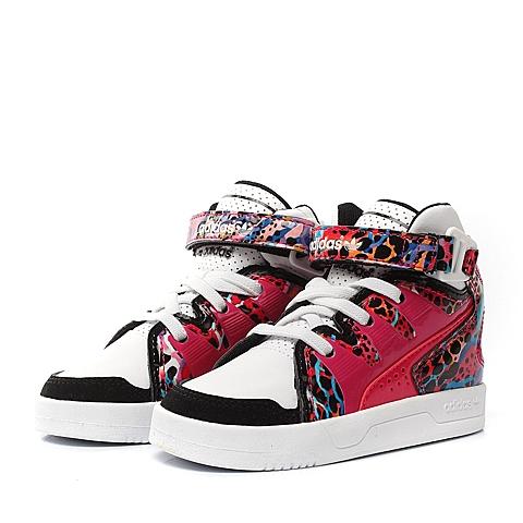 Adidas/阿迪达斯三叶草春季专柜同款粉色女婴幼童童鞋板鞋M17176