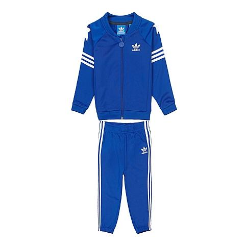 Adidas/阿迪达斯三叶草童装春季专柜同款新品男婴童针织套装S88056