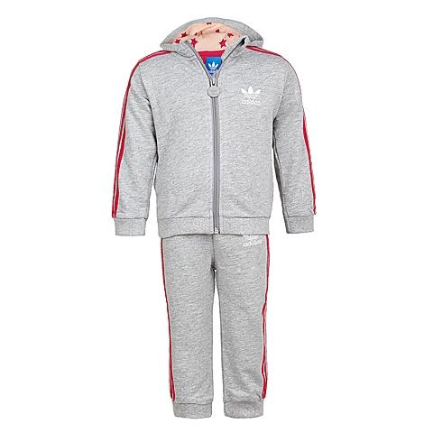 Adidas/阿迪三叶草春季专柜同款女婴童针织套装S14506