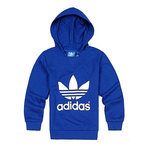 Adidas/阿迪三叶草童装春季专柜同款新品男婴童套头衫S14343