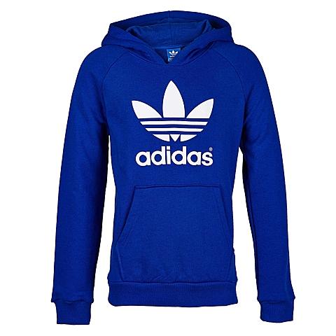 Adidas/阿迪三叶草童装春季专柜同款新品男大童套头衫S86633