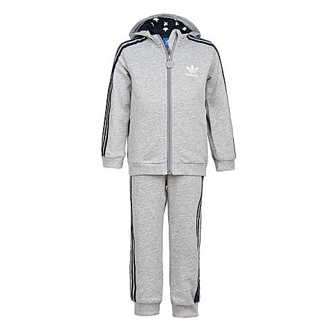 Adidas/阿迪三叶草春季专柜同款男婴童针织套装S14356