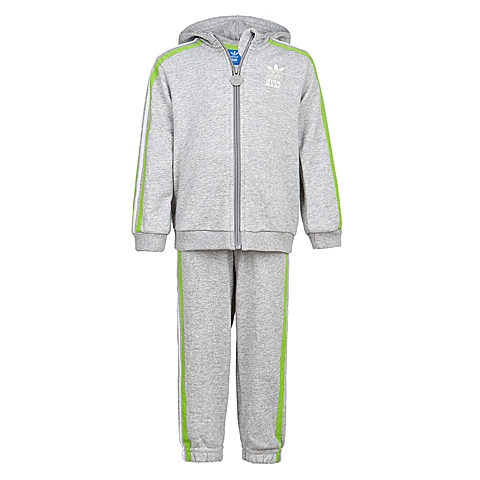Adidas/阿迪三叶草春季专柜同款男婴童针织套装S14389