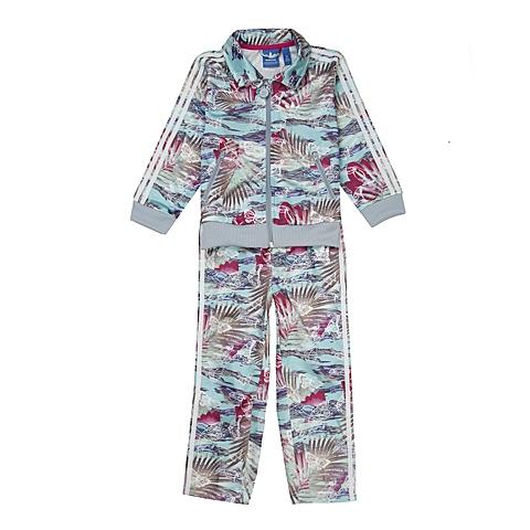 Adidas/阿迪三叶草春季专柜同款女婴童套服S14401
