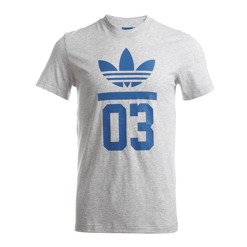 adidas阿迪三叶草2015年新款男子三叶草系列t恤s18517