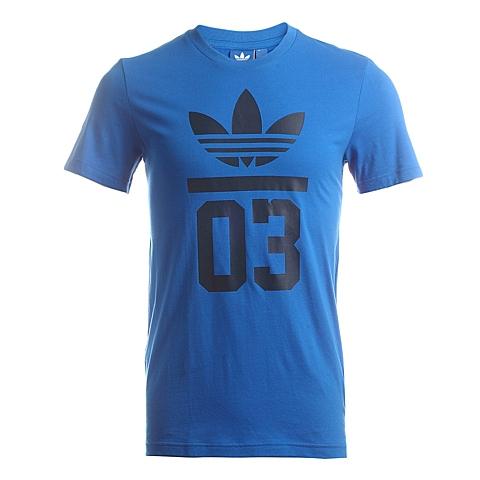 adidas阿迪三叶草新款男子三叶草系列T恤A98540