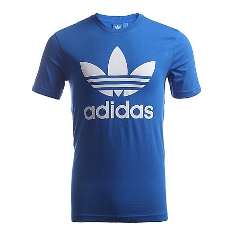 adidas阿迪三叶草新款男子三叶草系列短袖T恤AB7531