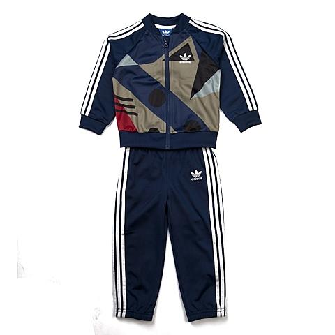 adidas阿迪三叶草新款专柜同款男婴长袖套服AB1781