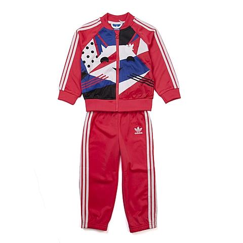 adidas阿迪三叶草新款专柜同款女婴长袖套服AB1785