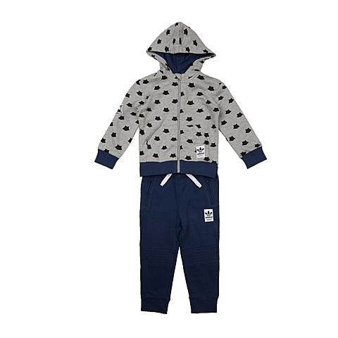 adidas阿迪三叶草新款专柜同款男婴长袖套服AB4019