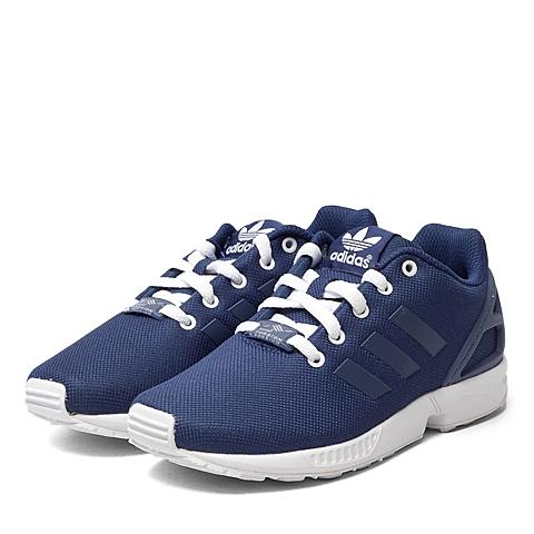 adidas阿迪三叶草新款专柜同款男童ZX FLUX系列休闲鞋B25637