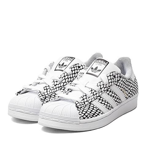 adidas阿迪三叶草新款专柜同款SUPERSTAR贝壳头男童休闲鞋B25739