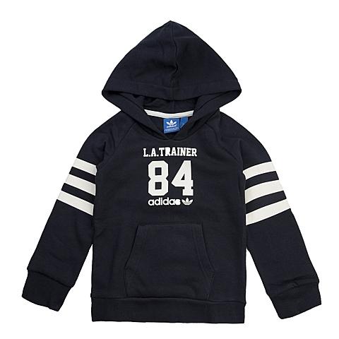adidas阿迪三叶草新款专柜同款大童男套头衫AB1668
