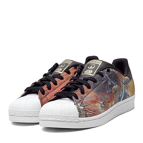 adidas阿迪三叶草新款专柜同款SUPERSTAR贝壳头男童休闲鞋B24726