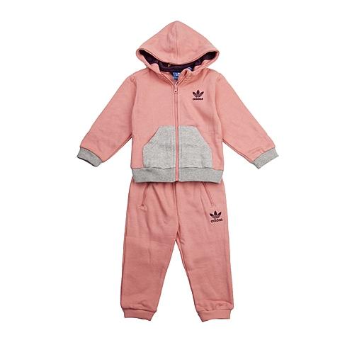 adidas阿迪三叶草新款专柜同款女婴长袖套服AB0850
