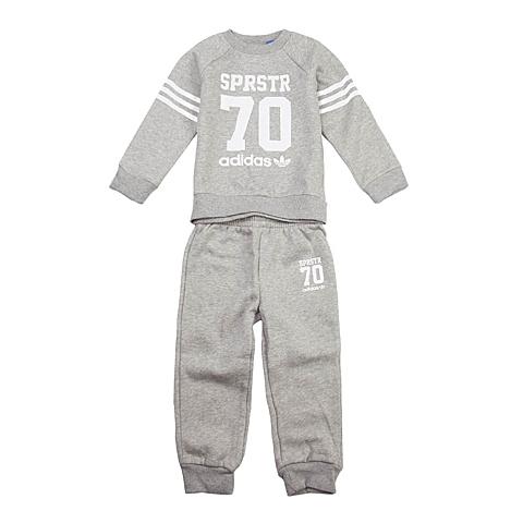 adidas阿迪三叶草新款专柜同款男婴长袖套服AB1191
