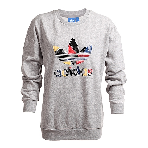 adidas阿迪三叶草新款女子针织套衫AB2189