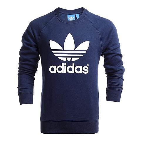 adidas阿迪三叶草新款男子针织套衫AC0487