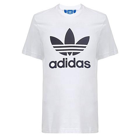 adidas阿迪三叶草新款男子三叶草系列短袖T恤AB7535