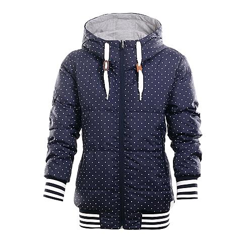adidas阿迪三叶草新款女子三叶草系列棉服AA7817