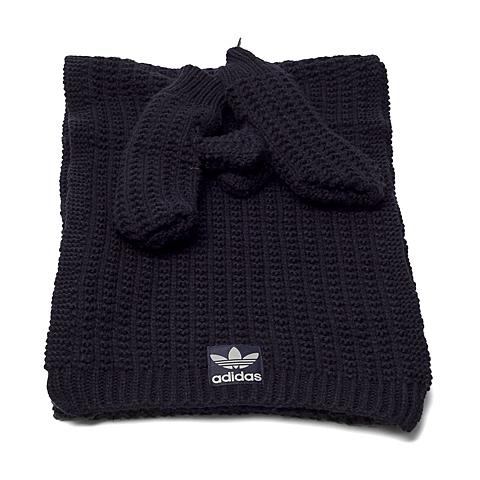 adidas阿迪三叶草新款女子围巾套装AB2993