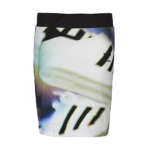 adidas阿迪三叶草新款女子三叶草系列短裙AX5999