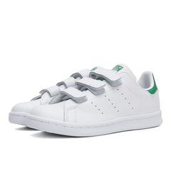 adidas阿迪三叶草2018中性小童STAN SMITH CF C休闲鞋M20607