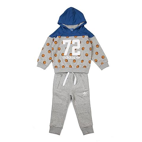 adidas阿迪三叶草 新款专柜同款男婴长袖套服AJ0224