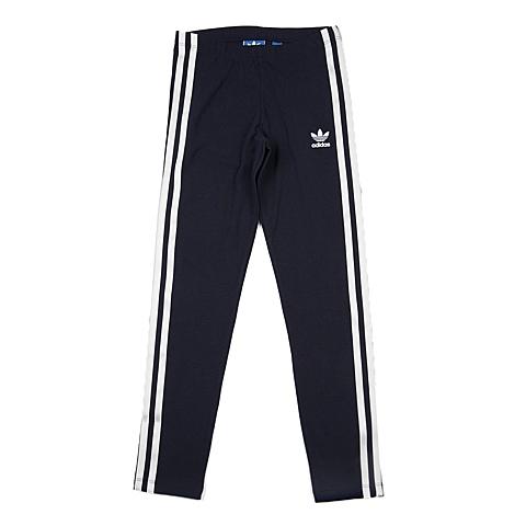 adidas阿迪三叶草 新款专柜同款大童女打底裤AJ0213