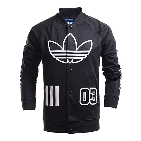 adidas阿迪三叶草新款男子针织外套AO0533