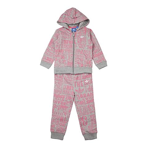 adidas阿迪三叶草新款专柜同款女婴长袖套服AP5451