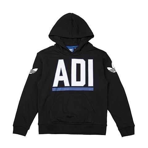 adidas阿迪三叶草新款专柜同款大童男针织茄克AJ0273