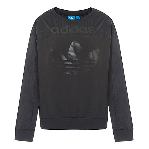 adidas阿迪三叶草新款女子三叶草系列针织套衫AJ8887