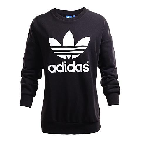 adidas阿迪三叶草新款女子三叶草系列针织套衫AJ8397