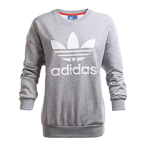 adidas阿迪三叶草新款女子三叶草系列针织套衫AJ8401