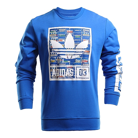 adidas阿迪三叶草2016年新款男子三叶草系列针织套衫AP9783