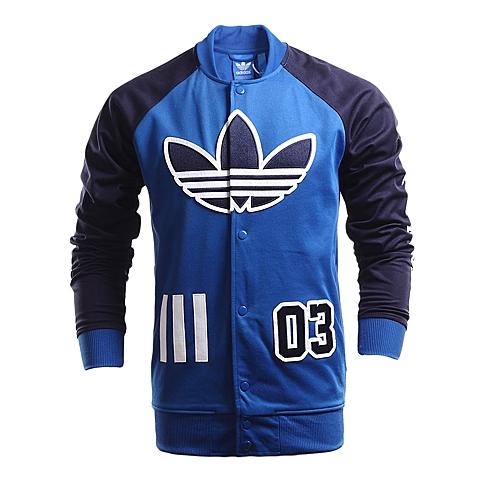 adidas阿迪三叶草新款男子三叶草系列针织外套AO0534