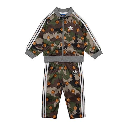 adidas阿迪三叶草新款专柜同款男婴长袖套服AJ0223