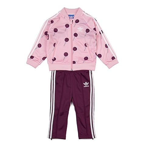 adidas阿迪三叶草新款专柜同款女婴长袖套服AI9985